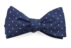 Bow Ties - Dotted Dots - Classic Blue
