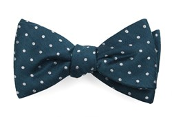 Bow Ties - Dotted Dots - Teal