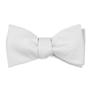 bulletin dot ivory bow ties