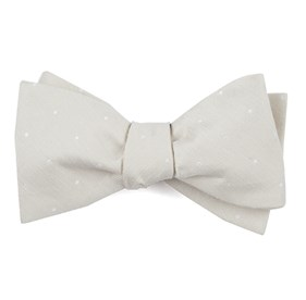 Bulletin Dot Light Champagne Bow Ties