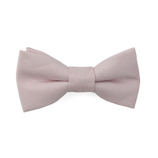 linen row blush pink boys bow ties