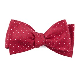 Apple Red Rivington Dots bow ties