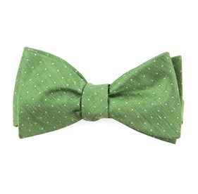 Apple Green Rivington Dots bow ties