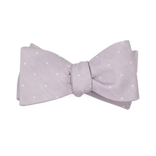 bulletin dot mauve stone bow ties