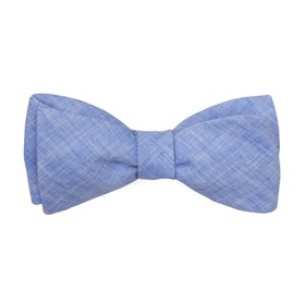Light Blue South End Solid bow ties