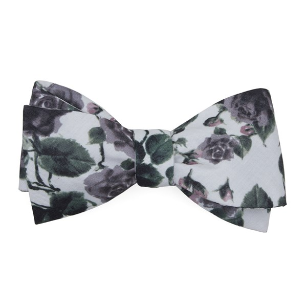 Purple Mumu Weddings - Floral Falls Bow Tie