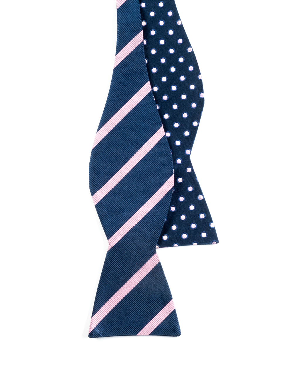 Navy Rimmed Trad Bow Tie Ties Bow Ties And Pocket
