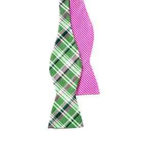 Kelly Plaiditude Tooth bow ties