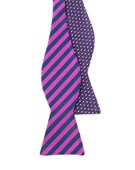 Bow Ties - TUNNEL DOT - ORCHID
