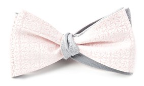 Bow Ties - Opulent Static - Blush Pink