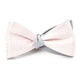 Blush Pink Opulent Static bow ties