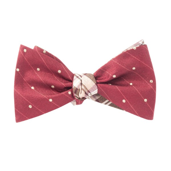 Wine Ringside Narrative Bow Tie
