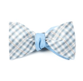 Parker Industry Light Blue Bow Ties