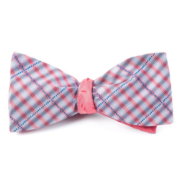 Red Parker Industry Bow Tie