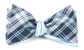 Bow Ties - NARRATIVE STRIPE - NAVY