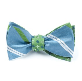 Blue Carson Offshore bow ties