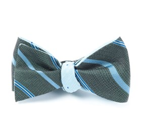 Blue Editor Bulletin bow ties