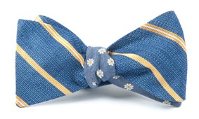 Bow Ties - EDITOR FLORAL - GOLD