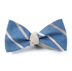 Taupe Editor Bulletin bow ties
