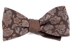 Bow Ties - Intellect Pinpoint - Brown