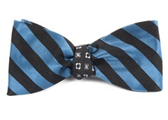 Bow Ties - Twill Bloom - Whale Blue