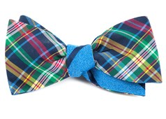 Bow Ties - Corrigan Path Stripe - Navy