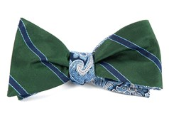 Bow Ties - Kennedy Paisley - Hunter Green