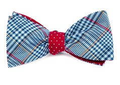 Bow Ties - Professor Dots - Light Blue