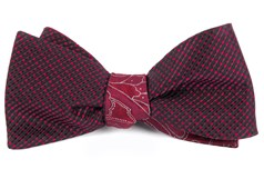 Bow Ties - Skylight Boundaries - Red