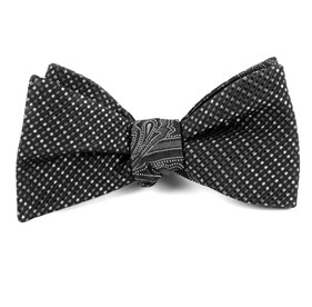 Skylight Boundaries Charcoal Bow Ties