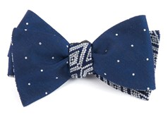 Bow Ties - Bulletin Aztecture - Navy