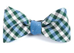 Bow Ties - Polo Dot - Green