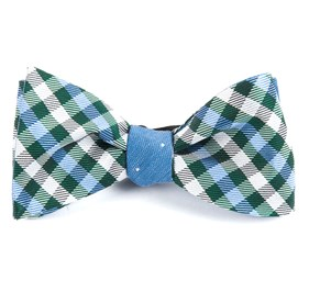 Green Polo Dot bow ties