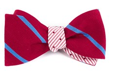 Bow Ties - Spring Break Dots - Red