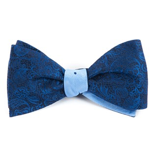 ceremony dot navy bow ties