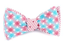 BOW TIES - BLISS DOTS - RED