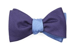 Bow Ties - Verge Sound Wave - Purple
