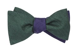 Bow Ties - Verge Sound Wave - Hunter Green