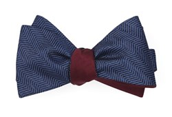 Bow Ties - Verge Sound Wave - Navy
