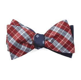 Red Emerson Flowers bow ties