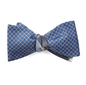 Network Pitch Light Blue Bow Ties