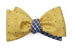 Bow Ties - Jpl Checks - Yellow