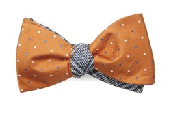 Bow Ties - Jpl Plaid - Orange