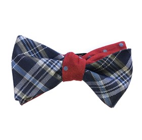 Navy Andersen Hitch bow ties
