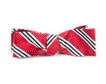 Bow Ties - BAR STRIPES - RED