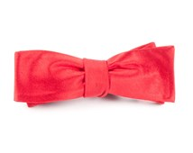 BOW TIES - SOLID SATIN - APPLE RED