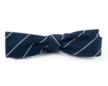 Bow Ties - Pencil Pinstripe - Classic Navy