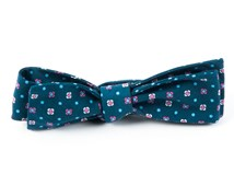 Bow Ties - BLOSSOM ROW - MATTE NAVY