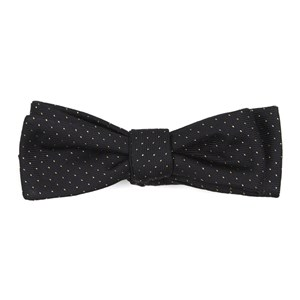 flicker classic black bow ties