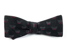 Bow Ties - THE SIGNATURE: WEDDING BOW TIE - BLACK